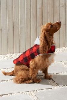 Lumber Jacket Style Dog Coat