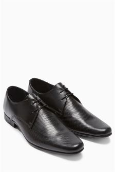 Perforated Lace-Up