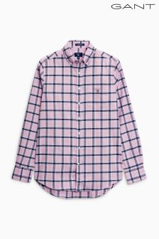 Gant Pink Comfort Oxford Check Shirt