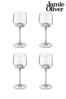 Jamie Oliver 4 Pack Vintage Wine Glasses