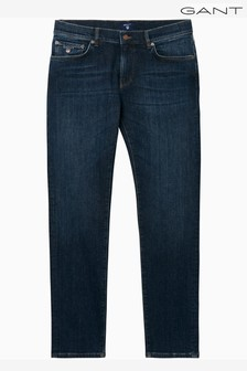 Gant Regular Straight Mid Wash Jean