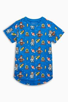 All Over Print Space T-Shirt (3-16yrs)