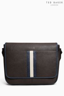 Ted Baker Brown Buzard Messenger Bag