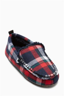 Moccasin Slippers (Older Boys)