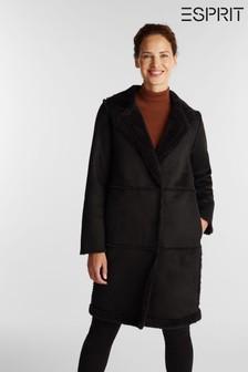 Brown Calvin Klein Leather Credit Card Wallet