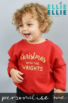 Personalised Childrens Family Christmas Jumper