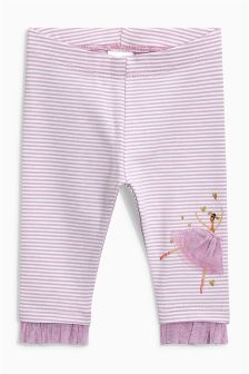 Tulle Hem Leggings (3mths-6yrs)