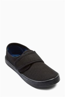 Black Plimsolls (Older Boys)