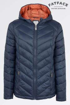 Fat Face Navy Lauren Lightweight Padded Jacket