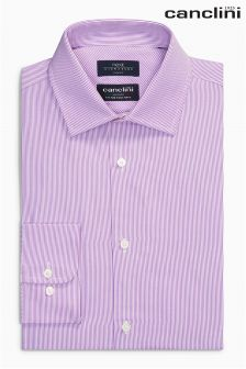 Signature Canclini Striped Shirt