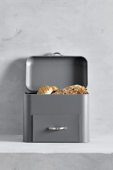 Grey Drawer Bread Bin
