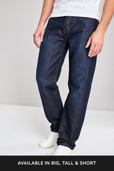 Mens Loose Fit Jeans | Stretch & Belted Baggy Jeans | Next UK
