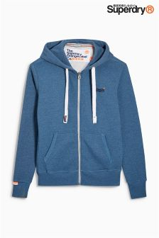 Superdry Orange Label Zip Hoody