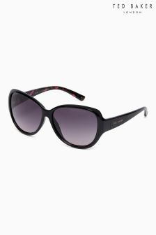 Ted Baker Black Shay Oversized Classic Sunglasses