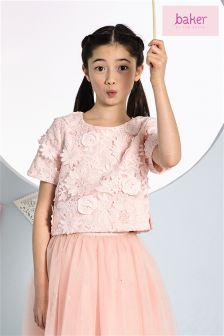 Baker By Ted Baker Lace Top