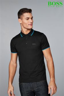 Boss Athleisure Black Tech Polo