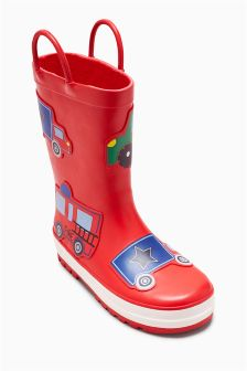 Car Wellies (Younger Boys)