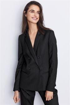 Double Breasted Tailored Jacket