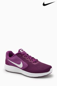 Nike Burgundy Revolution 3