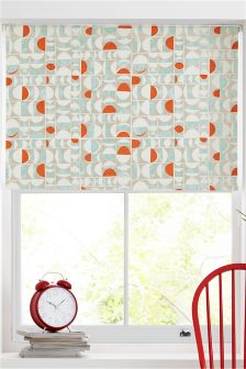 Broken Geo Blackout Roller Blind Studio Collection By Next