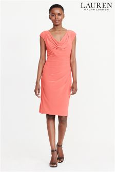 Lauren Orangy Poppy Valli Dress