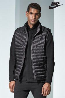 Nike Black Down Vest