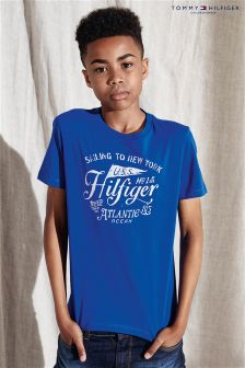 Tommy Hilfiger Blue Atlantic Logo T-Shirt