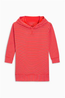 Longline Stripe Hoody (3-16yrs)