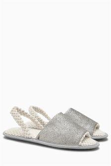 Slingback Slippers