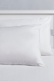 Set Of 2 Easycare Kids Plain Dye Housewife Pillowcases