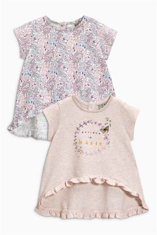 Ditsy T-Shirts Two Pack (3mths-6yrs)