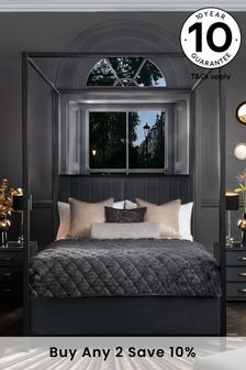 adidas Dark Grey Essential Linear Crew