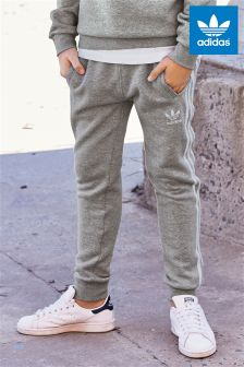 adidas Originals Grey 3 Stripe Jogger