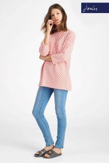 Joules Odessa Red Stripe Sweat