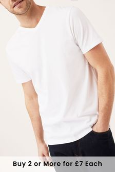 Plain T-Shirts for Men | Plain Tees | Next Official Site