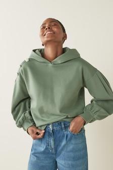 Nike Grey Modern 1/4 Zip Hoody