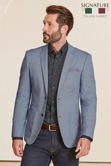 Signature Italian Slim Fit Jacket