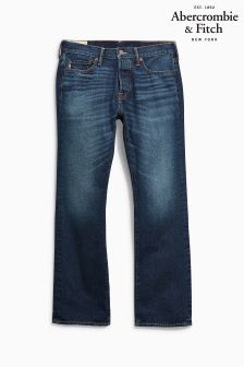 Abercrombie & Fitch Boot Cut Dark Wash Jean