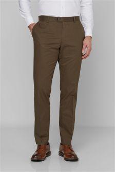 Signature Cotton Trousers
