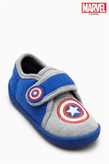 Captain America Slippers (Younger Boys)