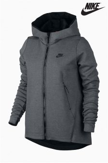 Nike Grey Sportswear Tech Fleece Hoody