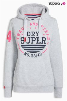 Superdry Ice Marl Track And Field Hoody