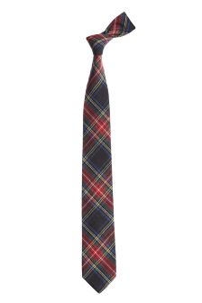 Cotton Check Tie