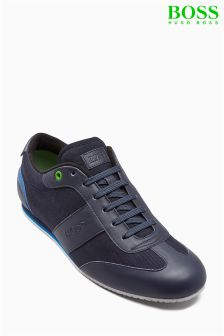 Boss Green Navy Lighter Low Profile Trainer