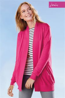 Joules Keva Soft Coral Cardigan