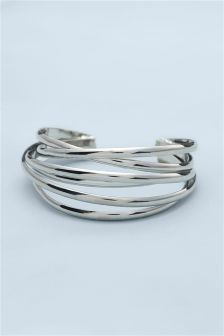 Crossover Cuff Bracelet