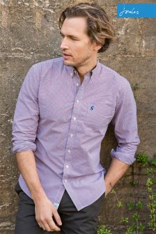 Joules Gingham Hensley Long Sleeve Shirt