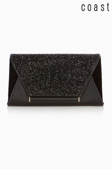 Coast Lily Metallic Clutch