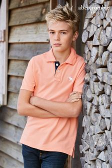 Abercrombie & Fitch Peach Classic Polo