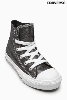 Converse Chuck Taylor All Star Black Shimmer Hi